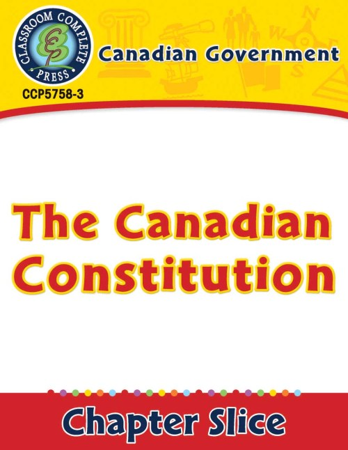 small resolution of Canadian Government: The Canadian Constitution - Grades 5 to 8 - Lesson  Plan - Worksheets - CCP Interactive
