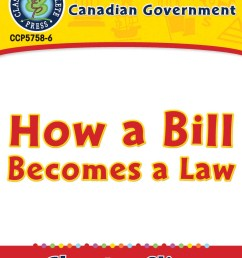 Canadian Government: How a Bill Becomes a Law - Grades 5 to 8 - Lesson Plan  - Worksheets - CCP Interactive [ 1164 x 900 Pixel ]