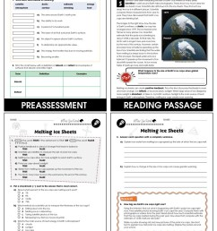 Climate Change: Effects: Melting Ice Sheets Gr. 5-8 - Grades 5 to 8 -  Lesson Plan - Worksheets - CCP Interactive [ 1165 x 900 Pixel ]
