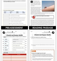 Climate Change: Effects: Climate and Human Health Gr. 5-8 - Grades 5 to 8 -  Lesson Plan - Worksheets - CCP Interactive [ 1165 x 900 Pixel ]