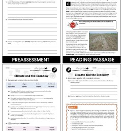 Climate Change: Effects: Climate and the Economy Gr. 5-8 - Grades 5 to 8 -  Lesson Plan - Worksheets - CCP Interactive [ 1165 x 900 Pixel ]