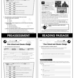 Reducing Your School's Carbon Footprint: Your School and Climate Change Gr.  5-8 - Grades 5 to 8 - Lesson Plan - Worksheets - CCP Interactive [ 1165 x 900 Pixel ]