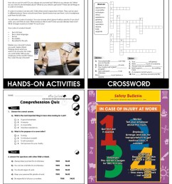 Employment \u0026 Volunteering: Thriving on the Job Gr. 9-12+ - Grades 9 to 12+  - Lesson Plan - Worksheets - CCP Interactive [ 1165 x 900 Pixel ]