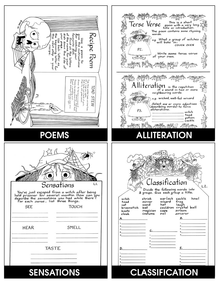 hight resolution of WITCH MAGIC - Grades 3 to 5 - eBook - Lesson Plan - CCP Interactive