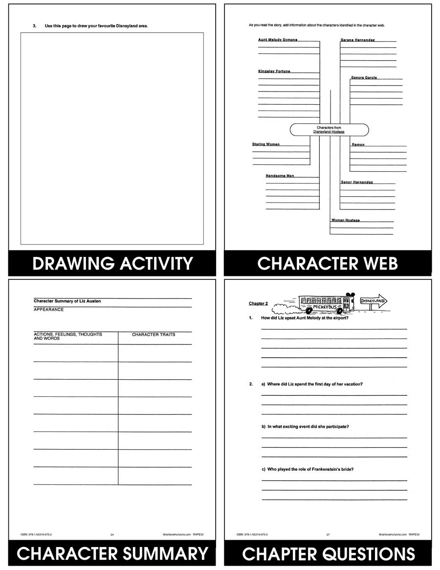medium resolution of Disneyland Hostage - Grades 6 to 8 - eBook - Lesson Plan - CCP Interactive