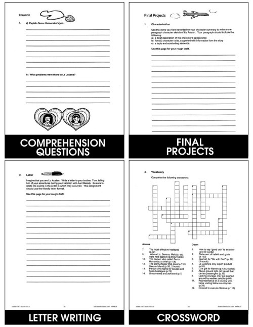 small resolution of Disneyland Hostage - Grades 6 to 8 - eBook - Lesson Plan - CCP Interactive