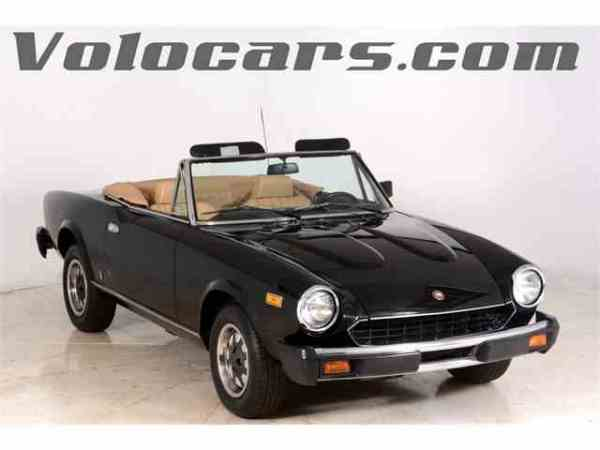 Classic Fiat Spider for Sale on ClassicCarscom 28 Available