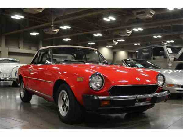 Classic Fiat Spider for Sale on ClassicCarscom