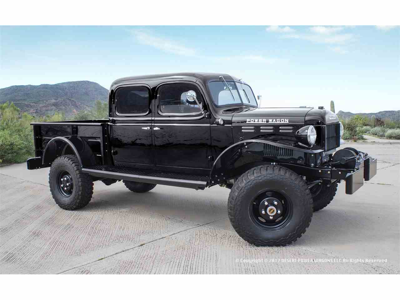 Dodge Power Wagon Crew Cabs For Sale