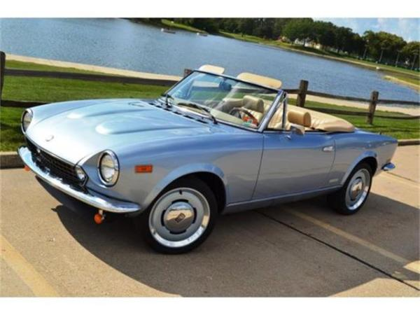 Classifieds for Classic Fiat Spider 26 Available