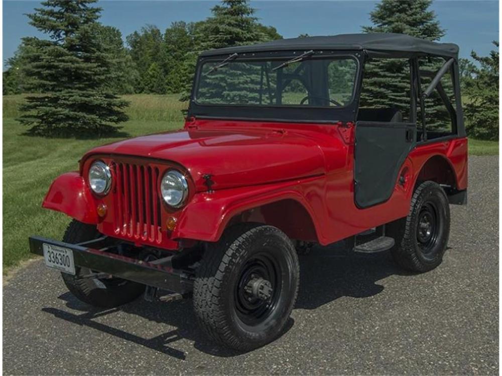 medium resolution of 1957 jeep cj5 for sale classiccars cc876011
