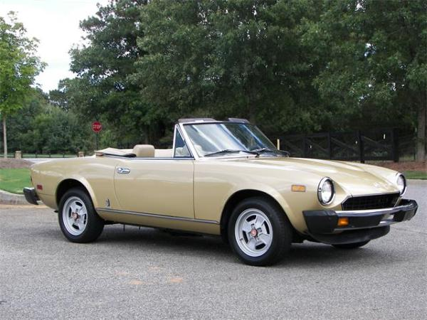 1981 Fiat Spider For Sale on ClassicCarscom 6 Available