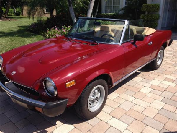 Classic Fiat Spider For Sale on ClassicCarscom 25 Available