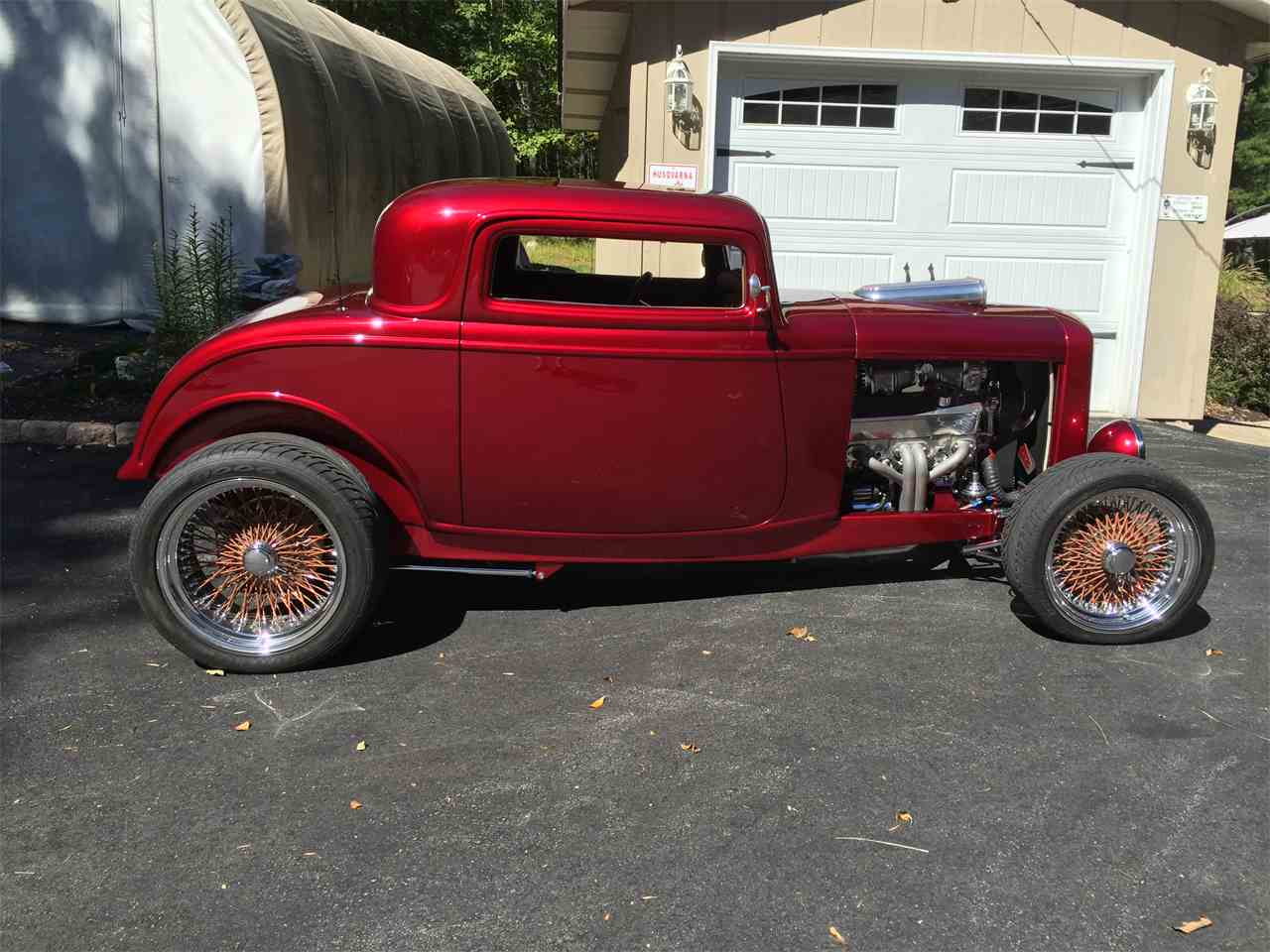 1932 Ford 3 Window Coupe Unfinished Project For Sale