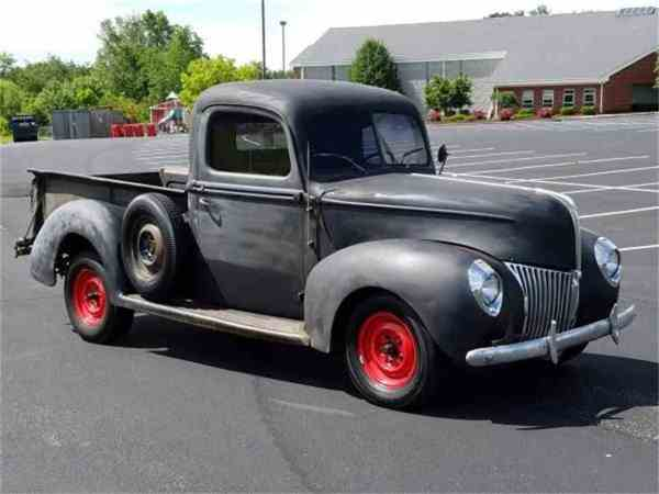 Craigslist New York 1940 Ford Pickup - Year of Clean Water