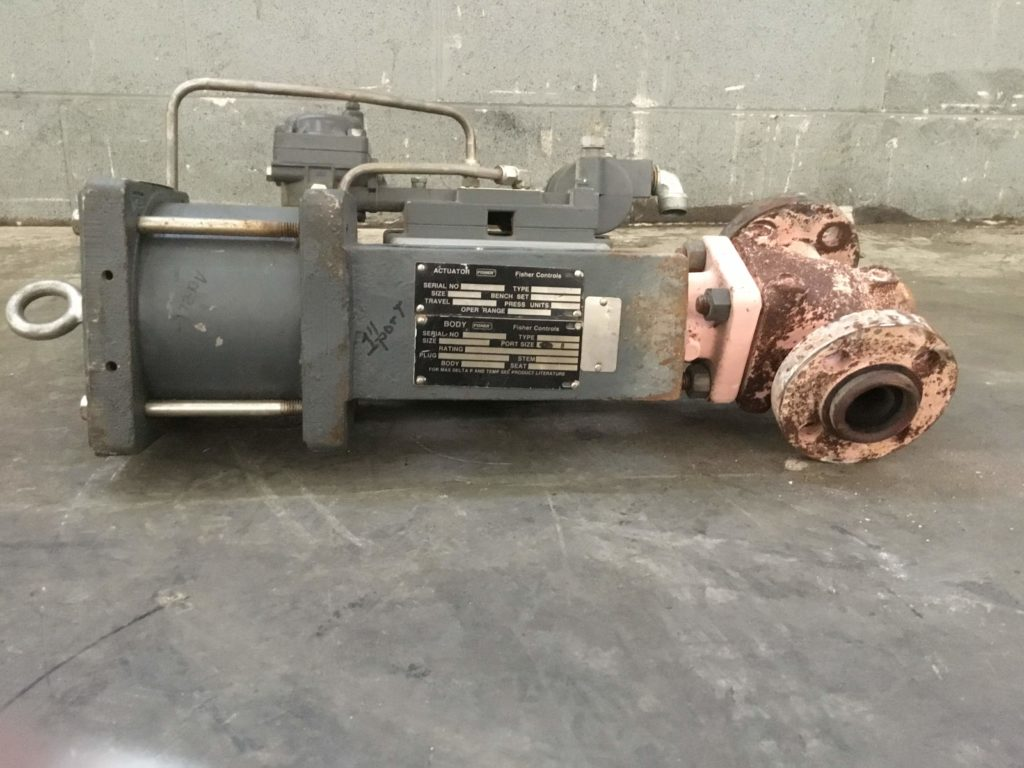 Fisher Valve Positioner Unit Series 3600 Type 3622 W Type