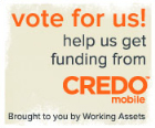 vote for CCR with Credo