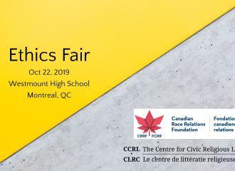 """Ethics fair"" workshops at Westmount High school, Montreal"