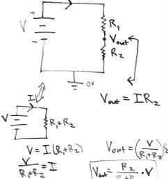 voltage divider [ 845 x 1038 Pixel ]