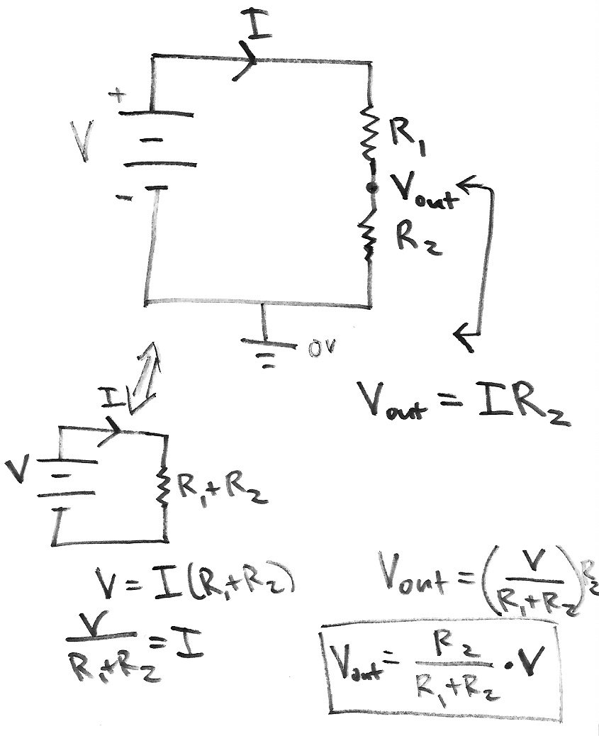 hight resolution of voltage divider