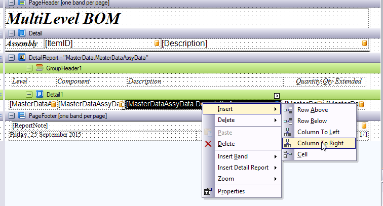 Adding Item Pictures to a Bill of Material Report - CCRSoftware ...