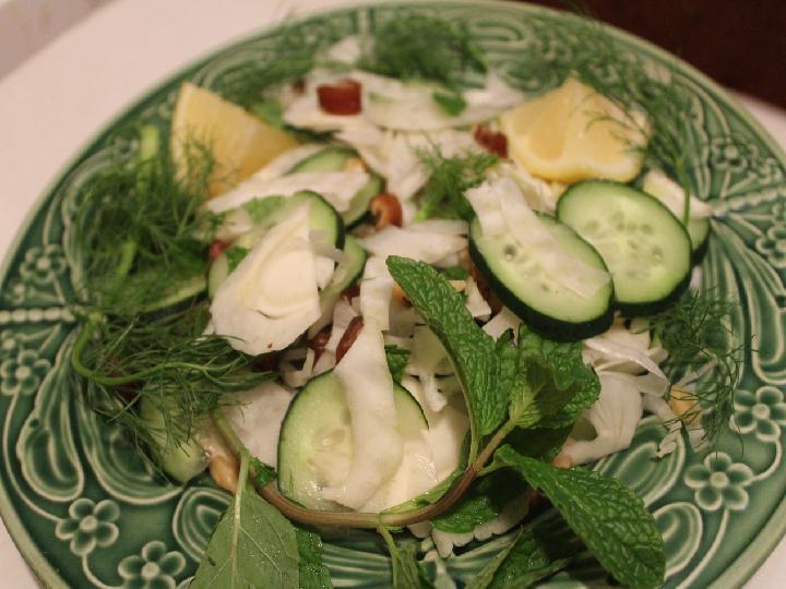 Photo of fennel salad