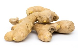Whole ginger root