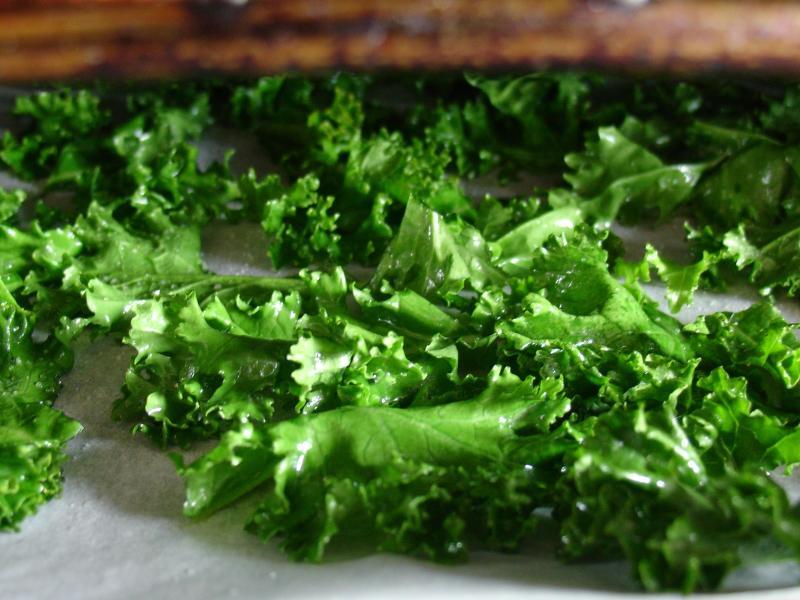 Kale leaves