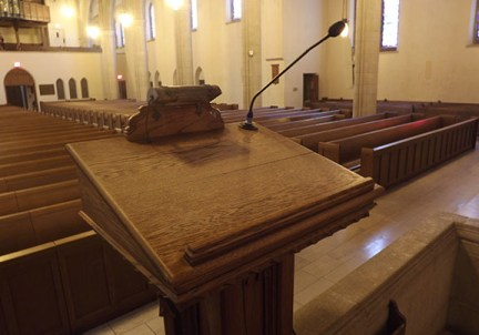 chapel-podium