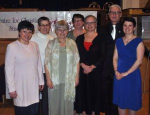 2012 CCS Graduates (with Ann Naylor and Ted Dodd)