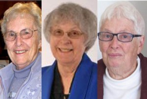 2013 Companions of the Centre: Marion Logan, Miriam Therese Winter, Jessie MacLeod