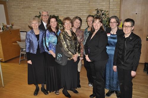Staff and graduates of CCS