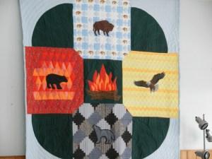 sandy saulteaux quilt