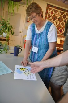 Mary Courtenay, Keeper of the Learning Circle for the Sandy-Saulteaux Spiritual Centre