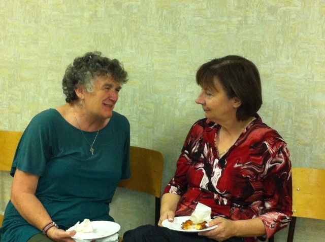 Peggy and Diane from the Anglican course