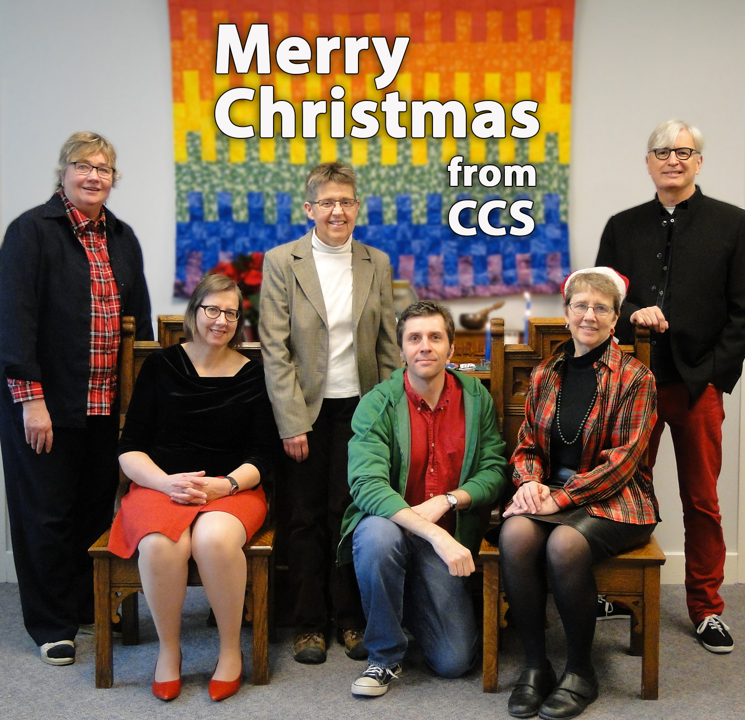 Merry Christmas from Terry, Lori, Ann, Scott, Maylanne, and Ted