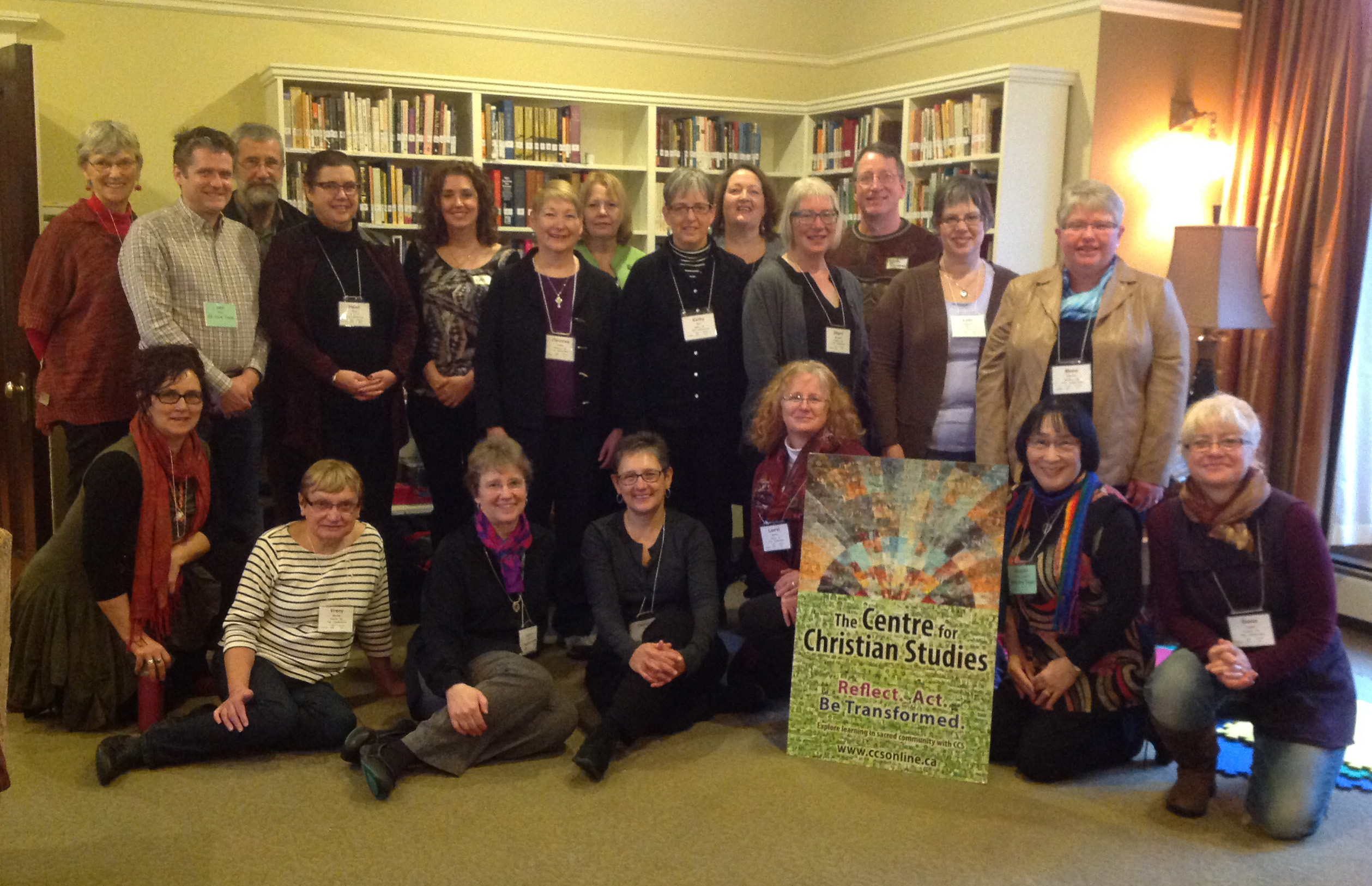 Gathering of CCS friends at Epiphany Explorations in Victoria.