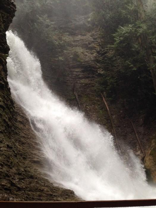 Margaret Falls in BC