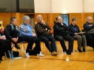 Ann Naylor, Dorothy McKay, Stan McKay, Mark MacDonal, and Maylanne Maybee at Thunderbird House
