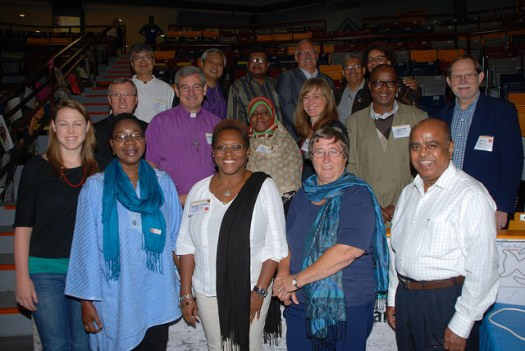 Ecumenical and International visitors at General Council