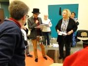 David in top hat