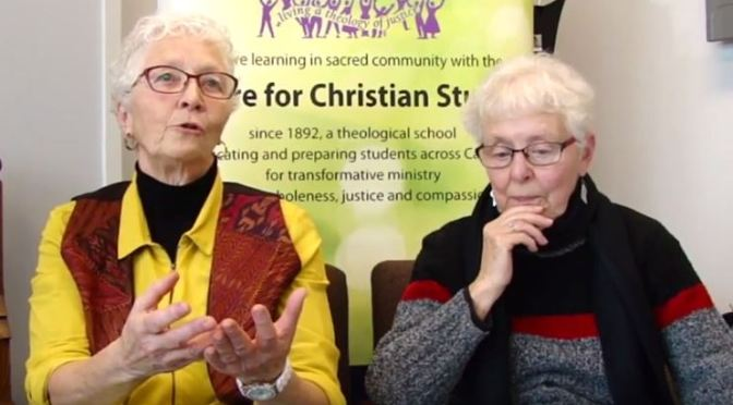 VIDEO – November Second Fridays – Bev Ridd and Dianne Cooper on Peace