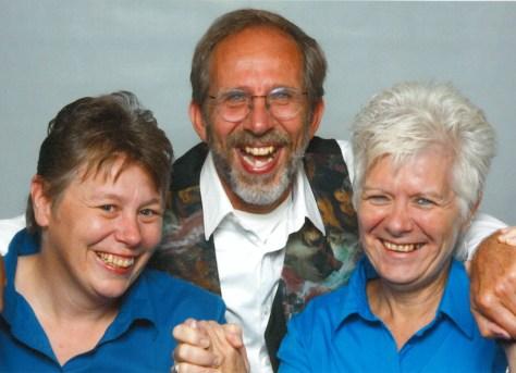 2016 CCS grads - Jackie Van't Voort, Hubert Den Draak, and Lynn Smith