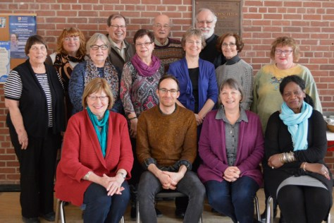 Participants in the Diocese of Rupert's Land deacons' retreat