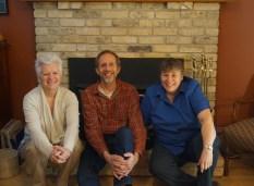 2016 CCS graduates - Lynn Smith, Hubert Den Draak, and Jackie Van't Voort