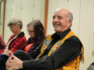 Stan McKay at the Companions in Conversation gathering