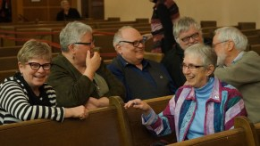 Friends of CCS gather for the Annual Service of Celebration