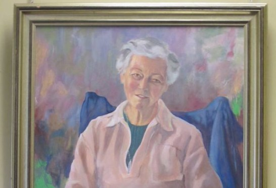 portrait of Katharin Hockin