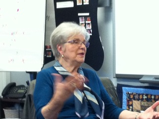 Elaine at Mentor Training