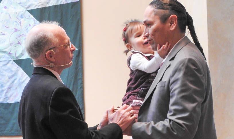 Ian McLean with Maya and Frank at Kamloops